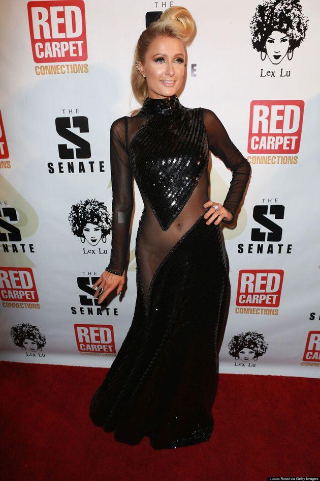 Paris Hilton Takes Sheer To A Whole New Level