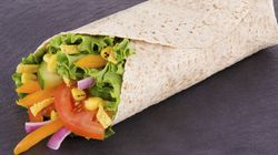 Veggie Wraps And 12 Other Awful Vegetarian Food