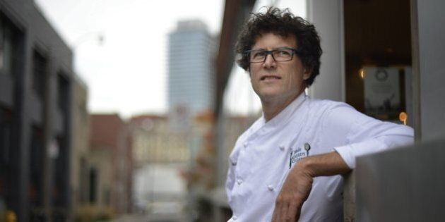 Chef Jamie Kennedy Gets 'Grilled' On Fish, Farmers And The