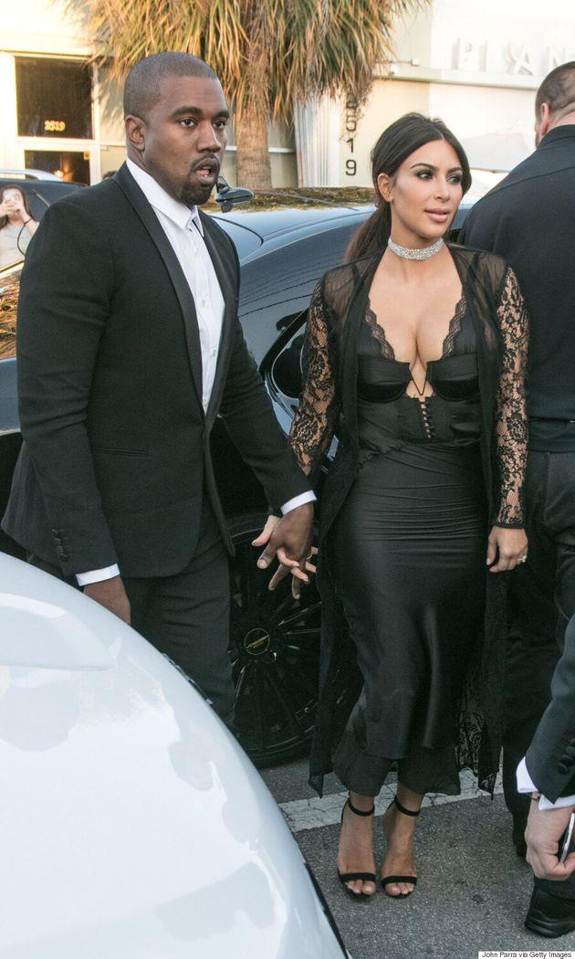 Kim Kardashian Wears Lingerie To Friend's Wedding, Posts Series Of Racy Selfies On