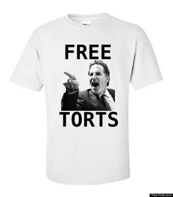 'Free Torts' T-Shirt Shut Down By Canucks