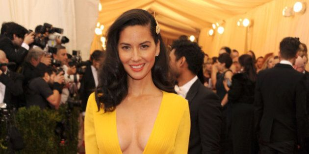 NEW YORK, NY - MAY 05: Olivia Munn attends the 'Charles James: Beyond Fashion' Costume Institute Gala...