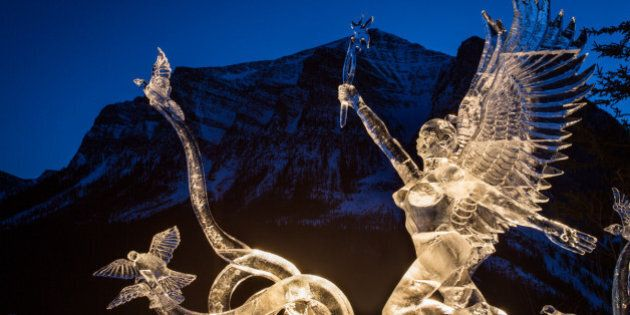 The Lake Louise Ice Magic Festival Turns A Cool 20