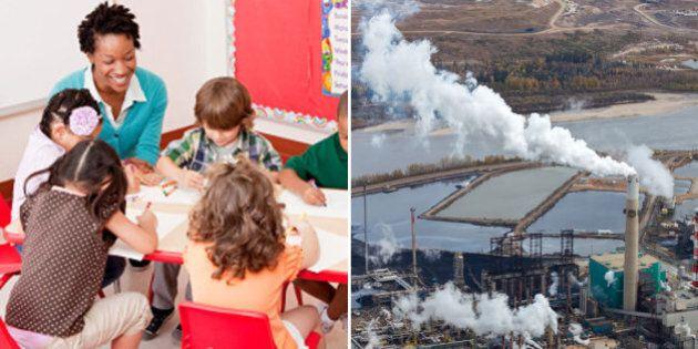 Big Oil Has No Place In Alberta School Curriculum Redesign: