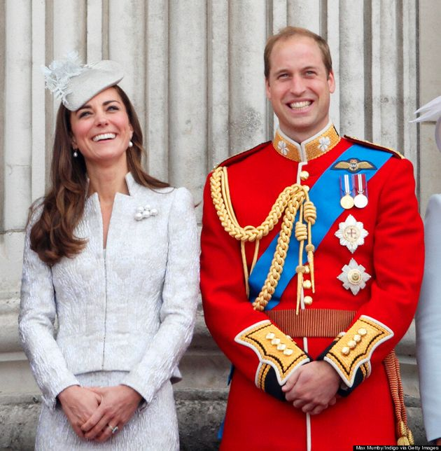 Kate Middleton, Duchess Of Cambridge, Celebrates Queen's Birthday In McQueen Outfit