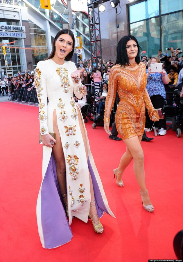 Kendall And Kylie Jenner MMVA 2014: Sisters Go Glam For Much Music Video Awards