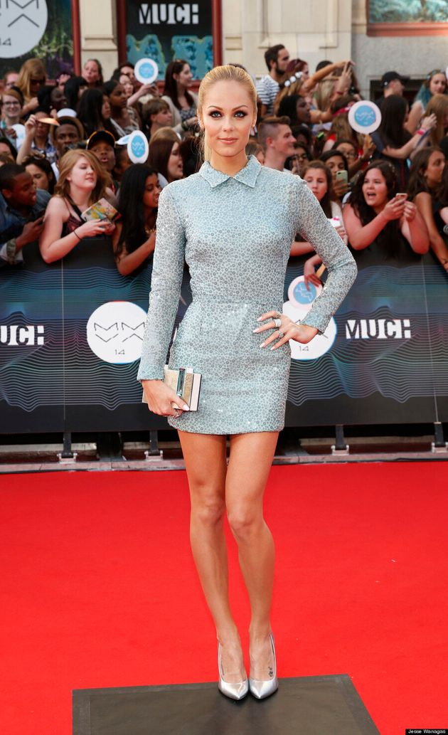 Laura Vandervoort MMVA 2014: 'Bitten' Actress Shows Off Sexy Side On The Red Carpet