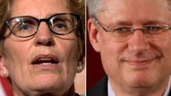 Wynne To Harper: Show Us The