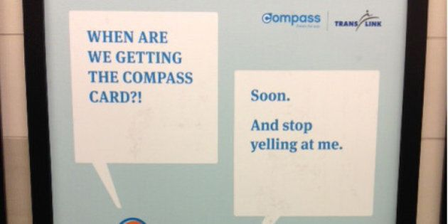 TransLink Compass Card Ads Take Playful Look At New Fare System