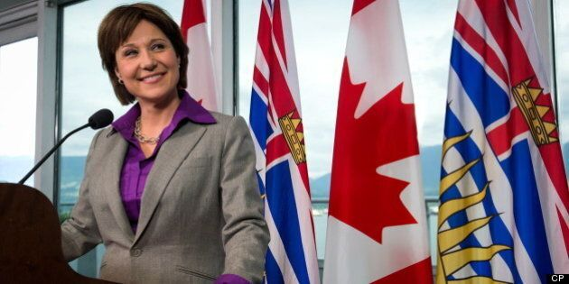 Christy Clark: B.C.'s LNG Plants Will Do World A Clean-Air