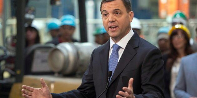 Ontario Election 2014: Tim Hudak Says Tax Cuts Better Than 'Corporate