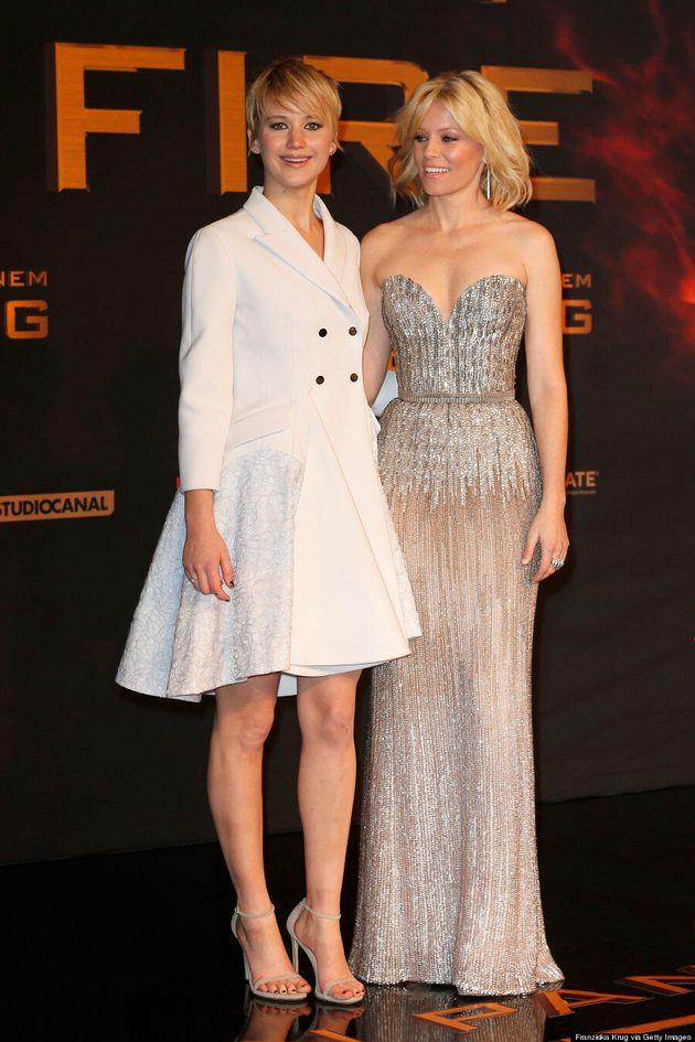 Jennifer Lawrence's 'Catching Fire' Coat Dress Channels Kate Middleton