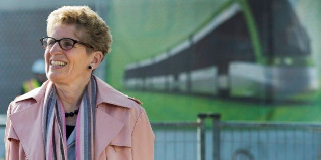 Ontario Election 2014: Wynne's Liberals Hope To Win By Veering