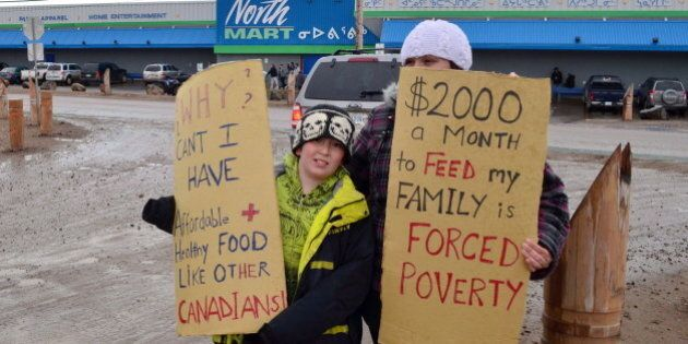 Northmart Targeted By Iqaluit Protesters Over Overpriced, Rotten