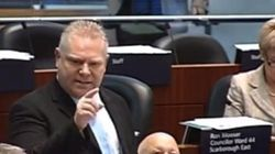 WATCH: Doug Ford LOSES