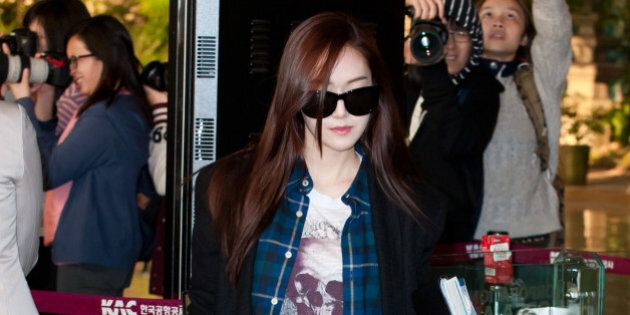Girls' Generation Airport Fashion: Style Photos Of The Cute K-Pop