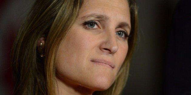Chrystia Freeland, Liberal Hopeful, Oversaw Loss Of Toronto Media