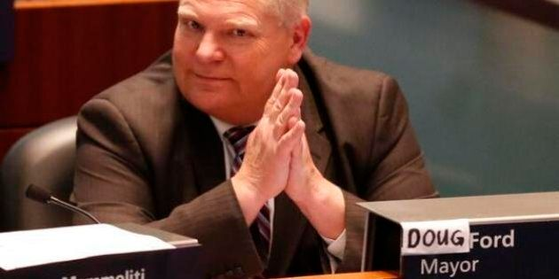 Doug Ford For Toronto Mayor? Councillor Won't Rule Out