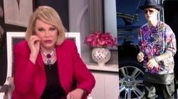 'Racist' Joan Rivers Calls Out Bieber's Fashion
