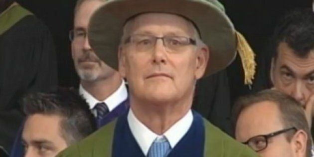 Gordon Campbell, Former B.C. Premier, Receives Honorary Law