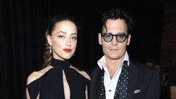 Johnny Depp And Amber Heard Wear Matching