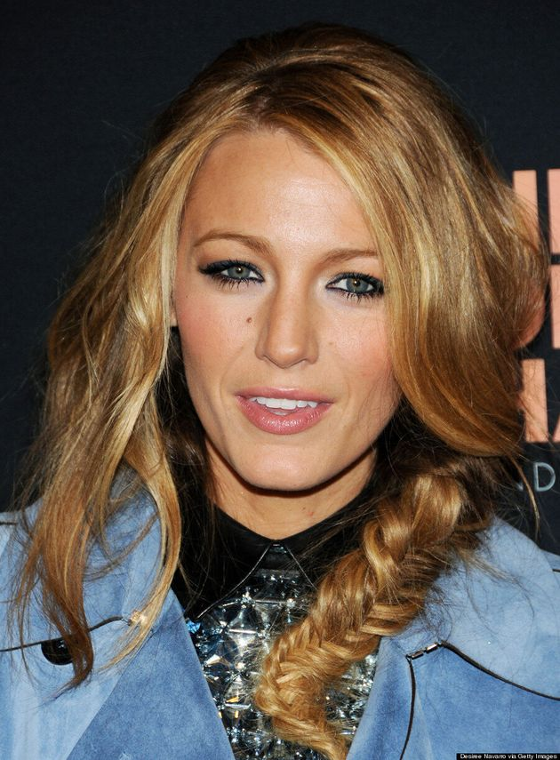 Blake Lively's Messy Fishtail Braid Actually