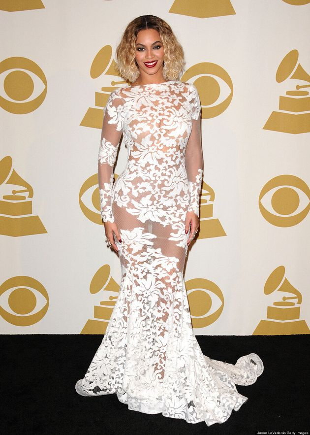 Beyonce Grammys 2014: 'Drunk In Love' Singer Changes Into White Dress