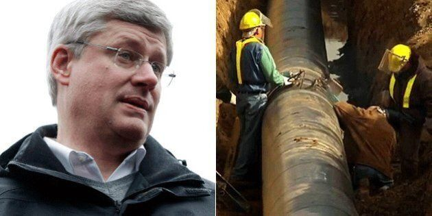 Harper Government's Northern Gateway Decision Going Down To