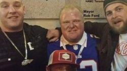 LOOK: Ford Pictured With Alleged Hells Angels