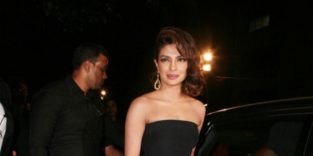 MUMBAI, INDIA JANUARY 24: Priyanka Chopra during Filmfare awards 2013 in Mumbai. (Photo by Milind Shelte/India...