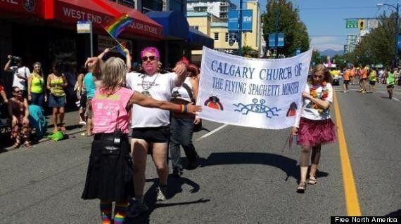 Anti-Gay Crusader Goes Undercover At Vancouver Pride Parade, Hands Out Fake