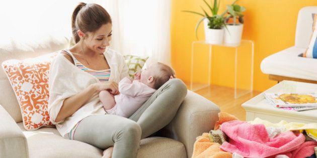 U.S. Moms Doing Less Housework, Watching More TV: