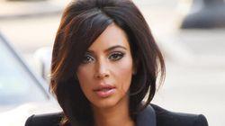 Kim Kardashian Forgets To Wear A Bra