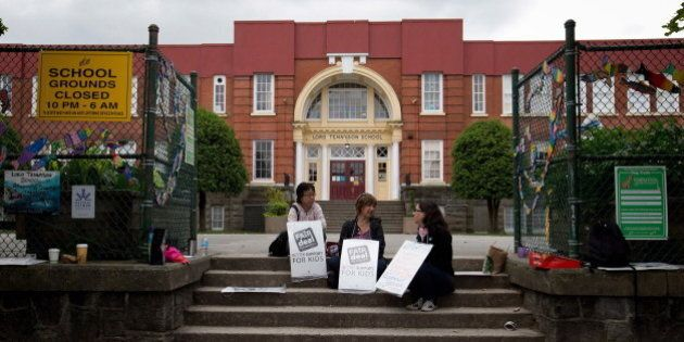 B.C. Teachers Strike 2014: Full Walkout