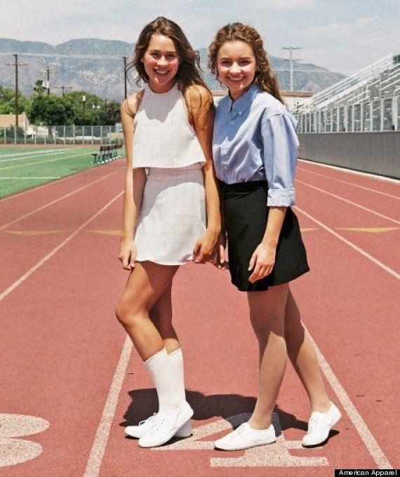 Racy American Apparel Upskirt Photos Cause Social Media Backlash