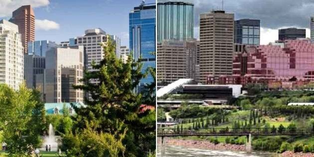 Housing Price Index Up In Calgary, Down In Edmonton In