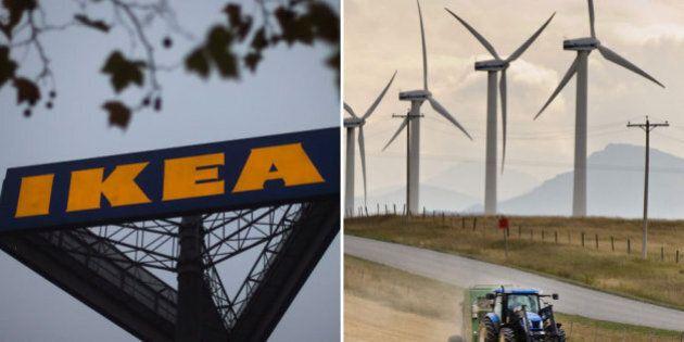 Ikea Canada Buys 20-Turbine Wind Farm Project In Pincher Creek,