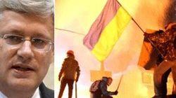 Harper Fears Ukraine Sliding To Soviet