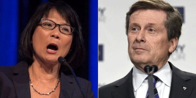 Olivia Chow Slips To Third, John Tory Leads In Toronto Mayoral Race: