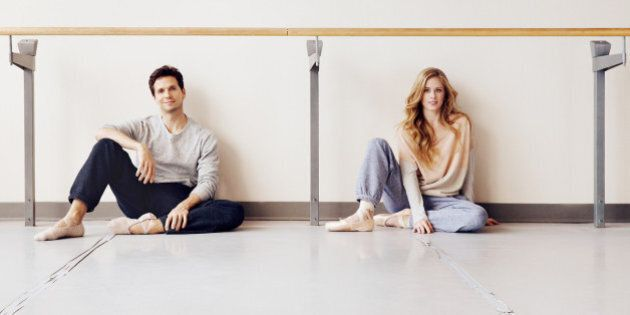 National Ballet Of Canada Dancers Heather Ogden And Guillaume Côté Star In Roots