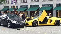 Someone Broke Their Lambo In