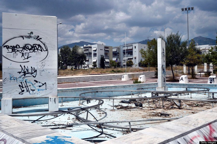Athens' Olympic Venues Look Ghostly Just 10 Years Later