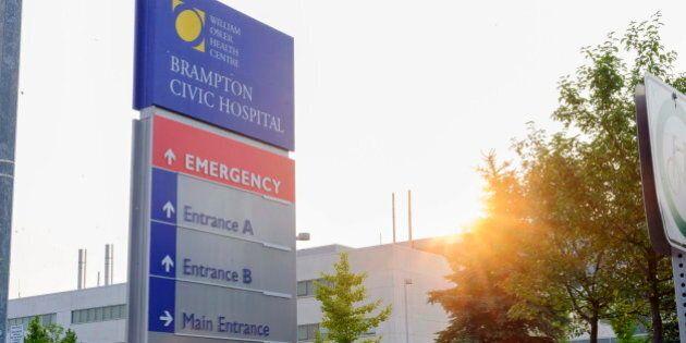 Brampton Civic Hospital Patient Tests Negative For