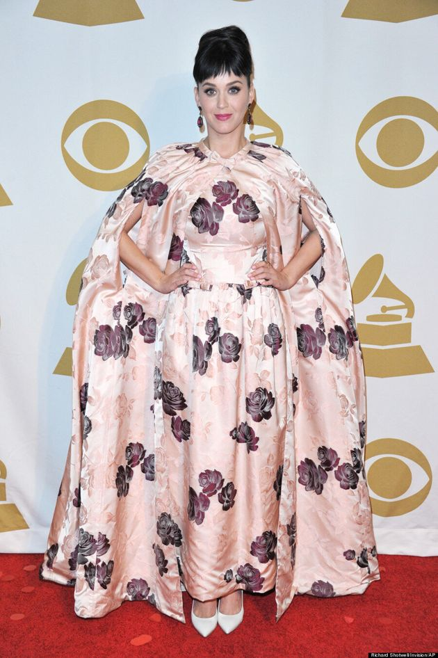 Katy Perry's Voluminous Dolce & Gabbana Dress Is Full Of Secrets