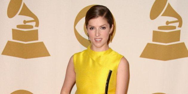 LOS ANGELES, CA - JANUARY 27: Actress Anna Kendrick attends 'The Night That Changed America: A GRAMMY...