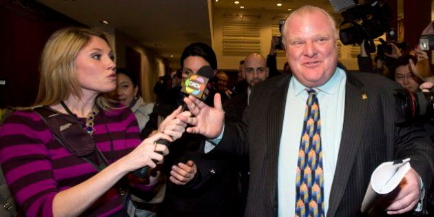 Rob Ford Denies He Crashed Event, Organizers Say He Wasn't