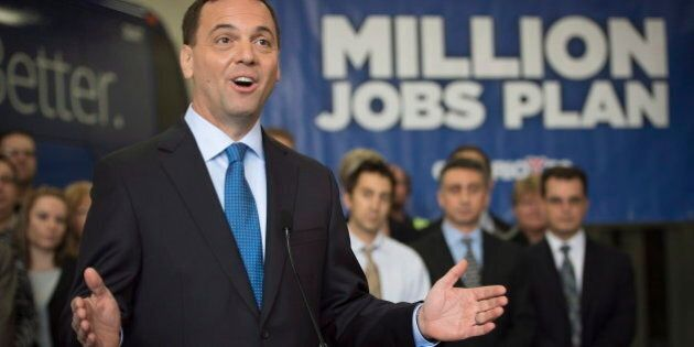 Ontario Election 2014: Tim Hudak Expected To Reveal Details On Jobs