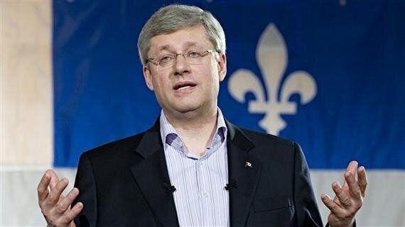 Harper in Quebec: It's Now or
