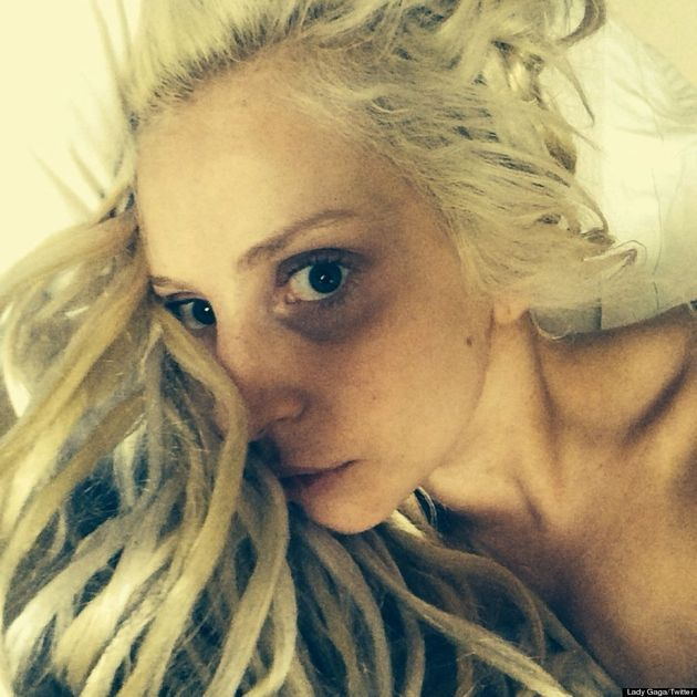 Lady Gaga's Makeup-Free Selfie Is A Bit