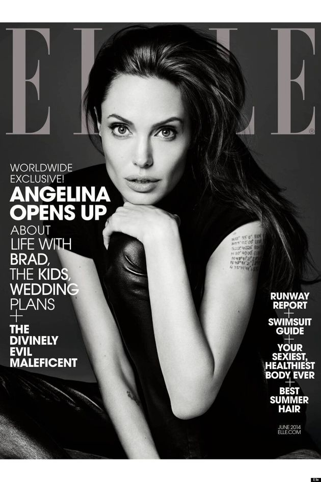 Angelina Jolie's Elle Cover Proves She's The Most Beautiful